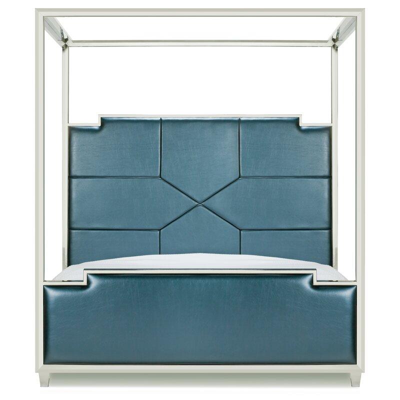 Westford Upholstered Canopy Bed $1,499.9