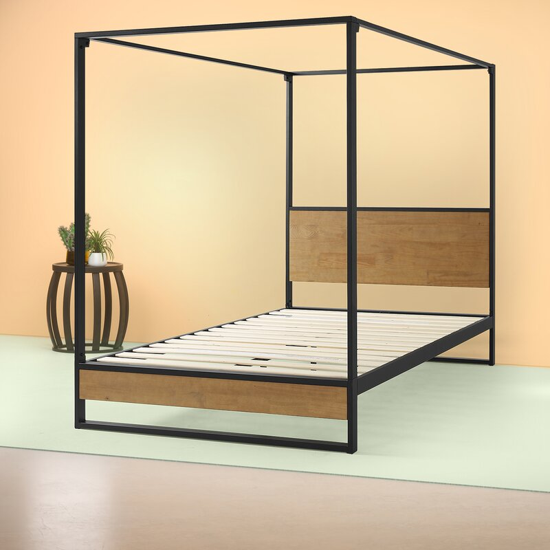 Zinus Suzanne Canopy Bed $279.99