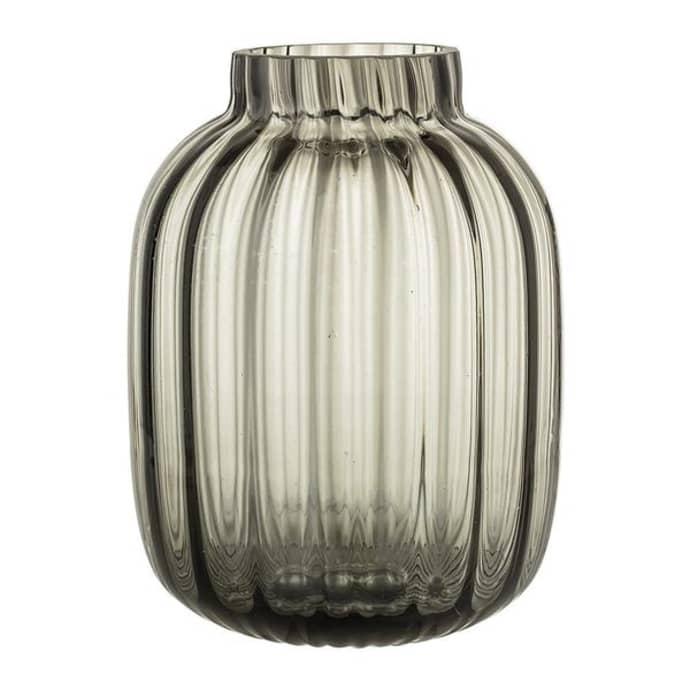 Grey Glass Vase $45.49