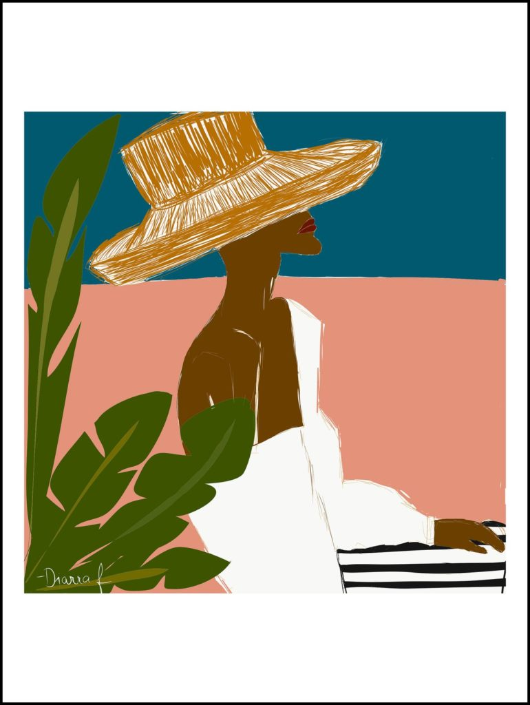 DALLU IN CARTAGENA | ART PRINT $36