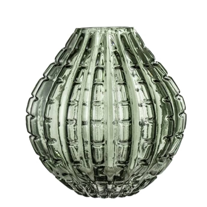 Green Glass Modern Vase $35.49