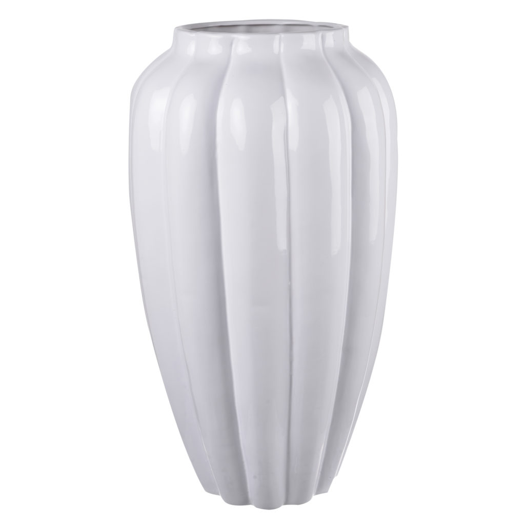 A&B Home Larissa Ribbed Vase Tall, 10.5 by 21-Inch $112.04