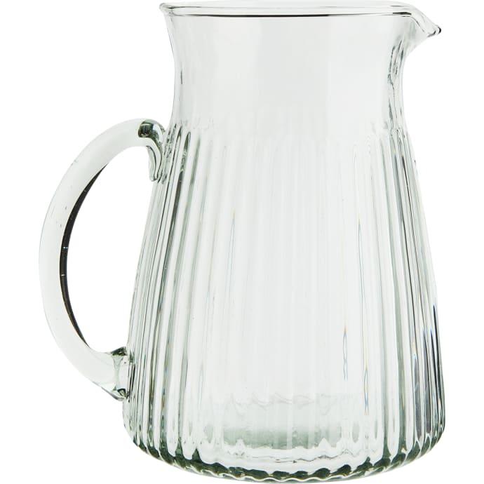 Ribbed Glass Lemonade Jug $26.49