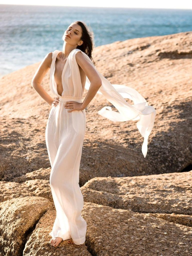 SUSTAINABLE UMY BLANC CONVERTIBLE JUMPSUIT$225