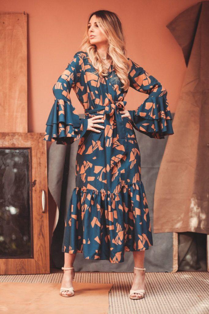 ISSEU GYRAF DRESS $195