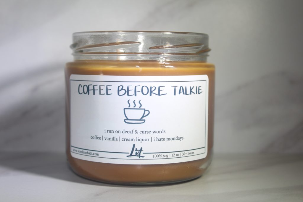 Coffee before Talkie $20.00