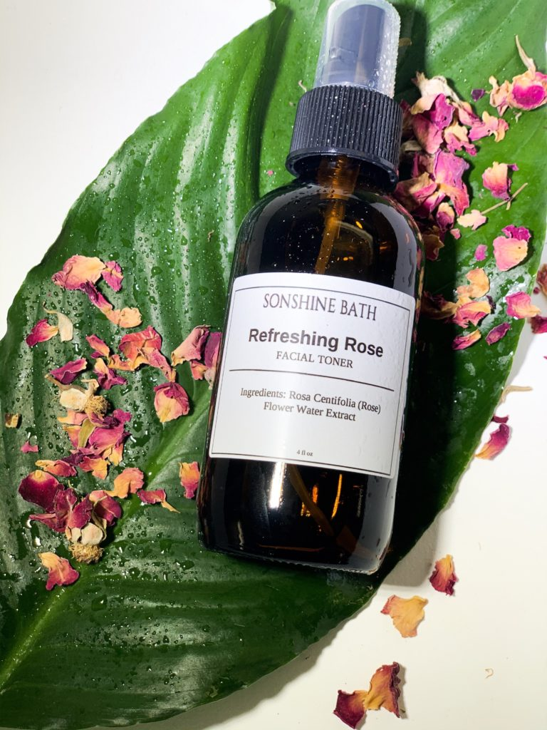 Refreshing Rose Facial Toner $14.00