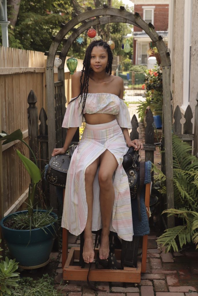 Mama's Curtain Skirt Set $145.00