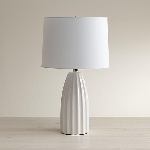 Ella White Table Lamp $129.00