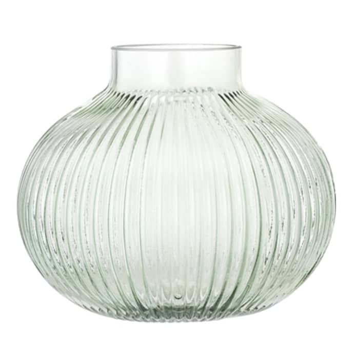Green Glass Vase $25.99
