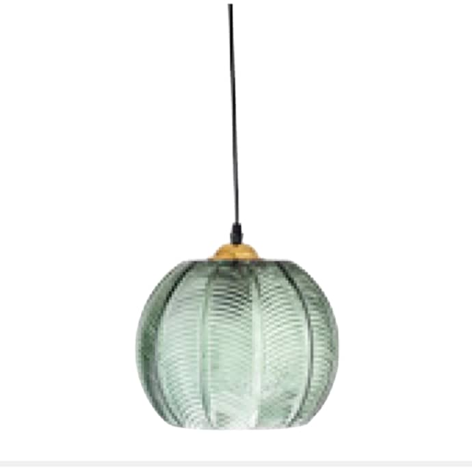 Green Glass Pendant Lamp$133.99