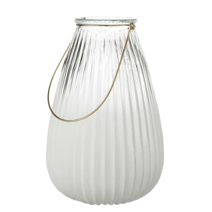 White Glass Lantern $49.49