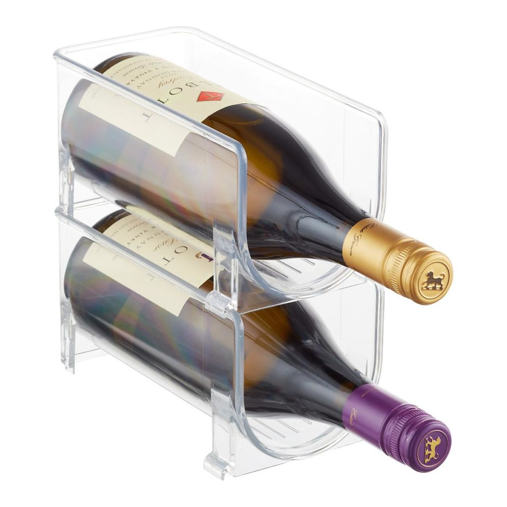 iDesign Linus Fridge Bins Wine Holder $7.19https://fave.co/3gGvlDO