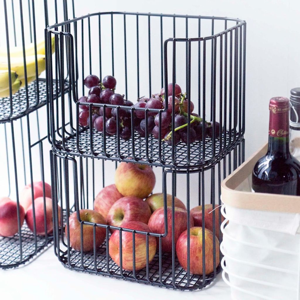 Vertical Wire Stacking Bins $18.99-21.99