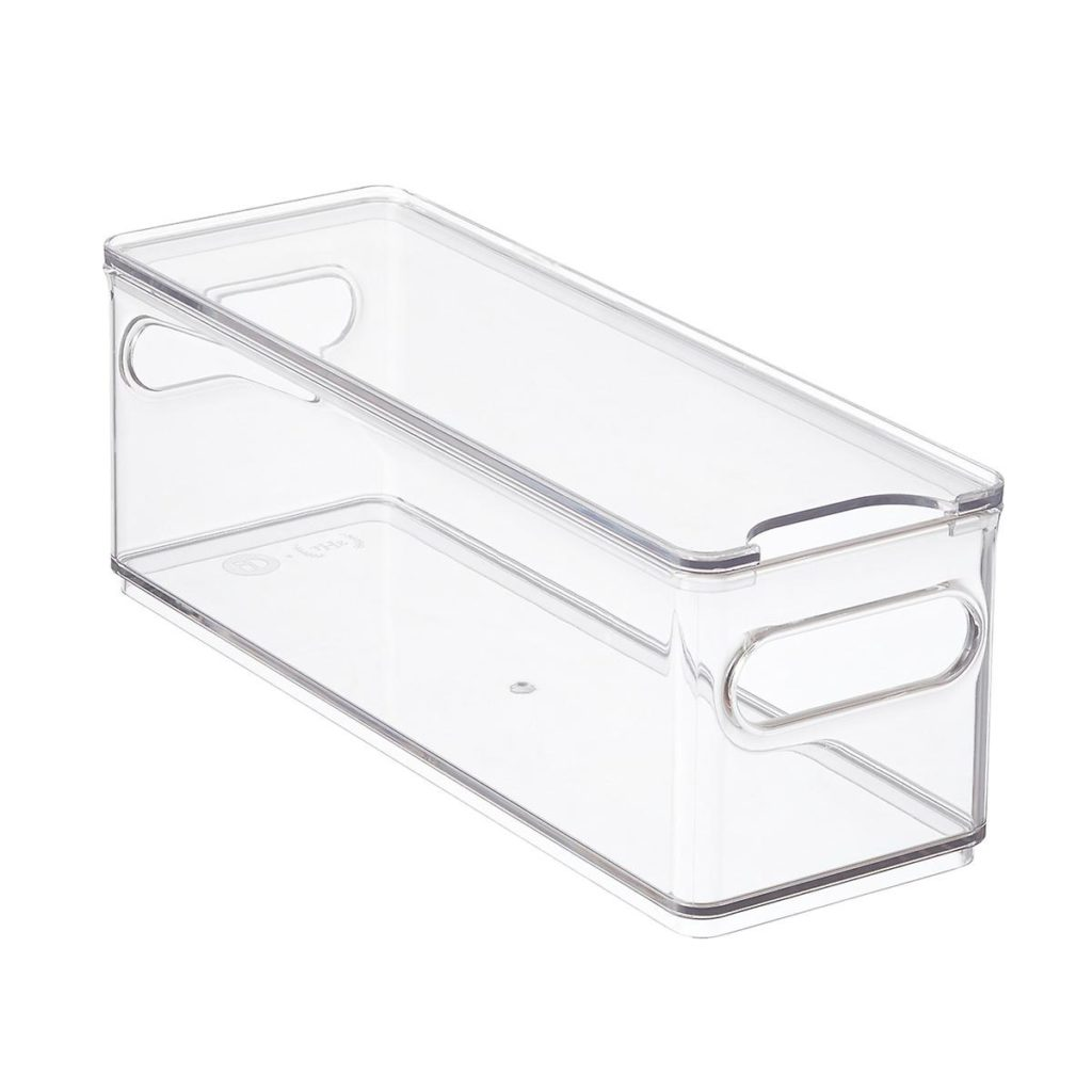 The Home Edit Narrow Fridge Bin $12.99