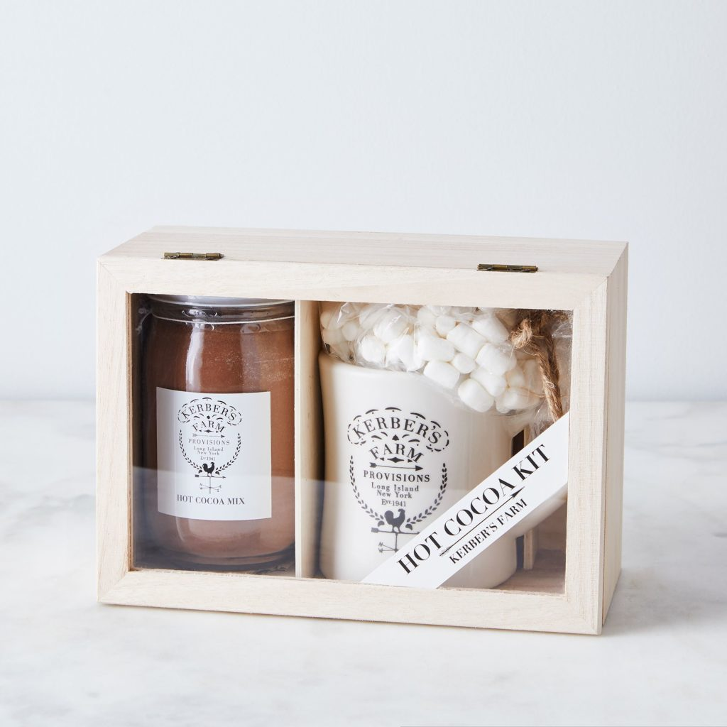Kerber's Farm Homemade Hot Cocoa & Mug Gift Box $30