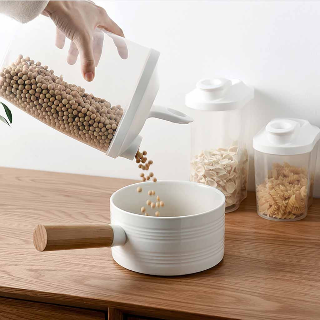 Lovehome Plastic Cereal Dispenser Storage Box Kitchen Food Grain Rice Container Nice $18.80