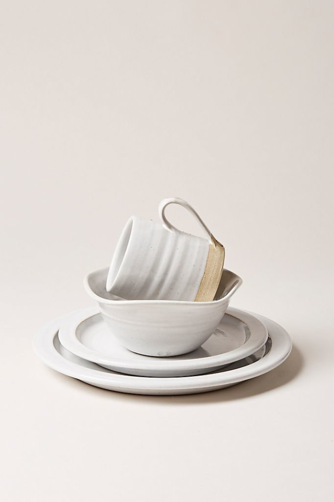 Farmhouse Pottery White Silo Place Setting$245.00