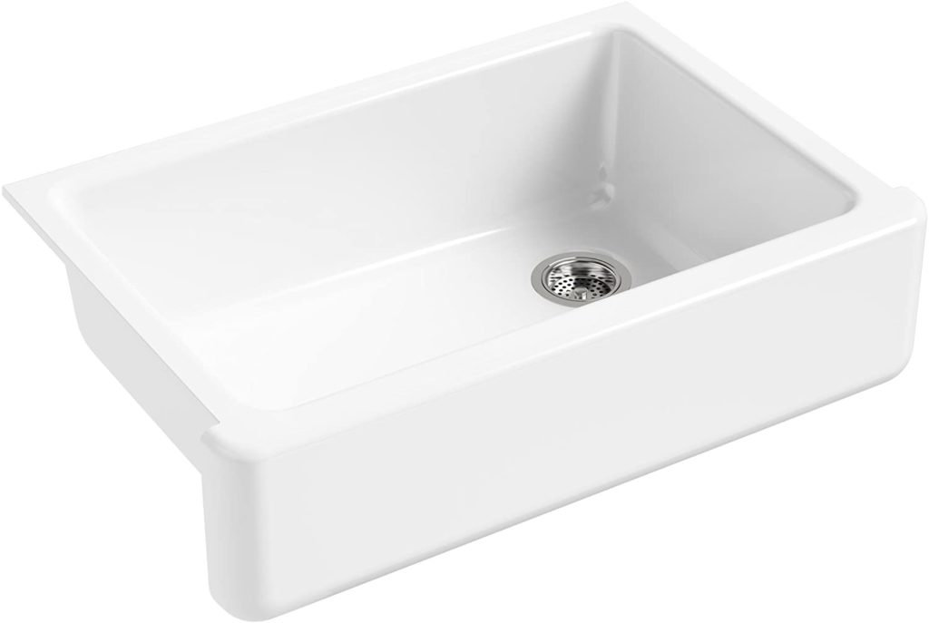 Whitehaven Farmhouse Self-Trimming Undermount Single-Bowl Sink with Tall Apron $709.99