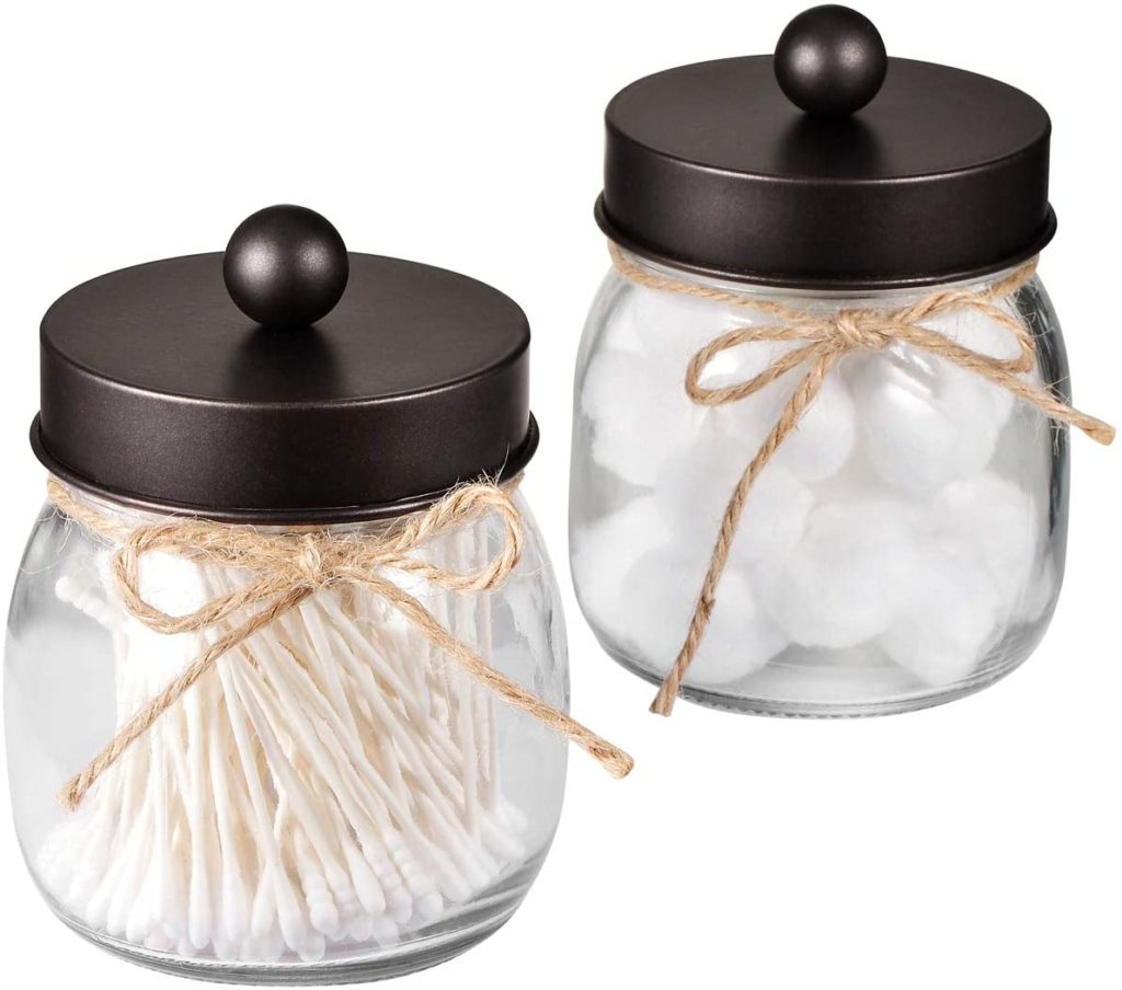Mason Jar Bathroom Apothecary Jars $13.97