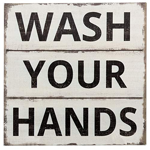Barnyard Designs Wash Your Hands Sign  $15.95