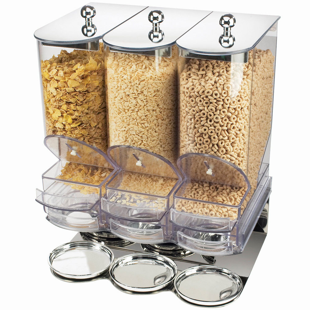 17W x 13.5D x 22H Portion Control Cereal Dispenser $1,689.00