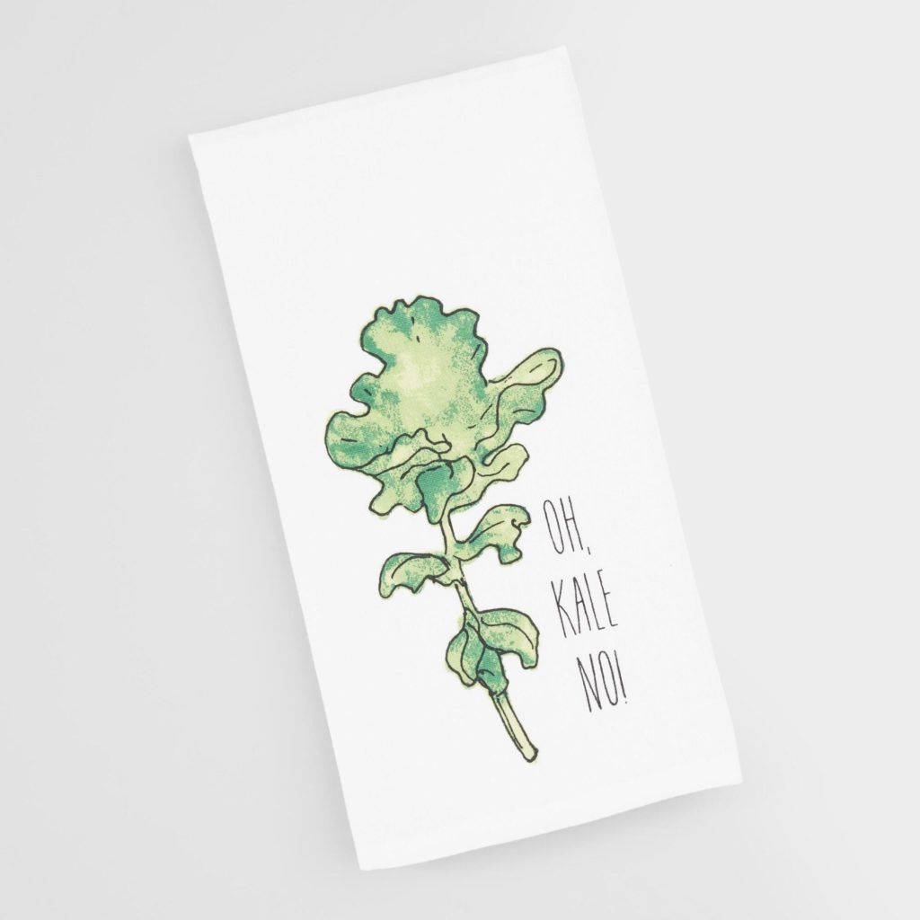 Oh Kale No Kitchen Towel $5.99