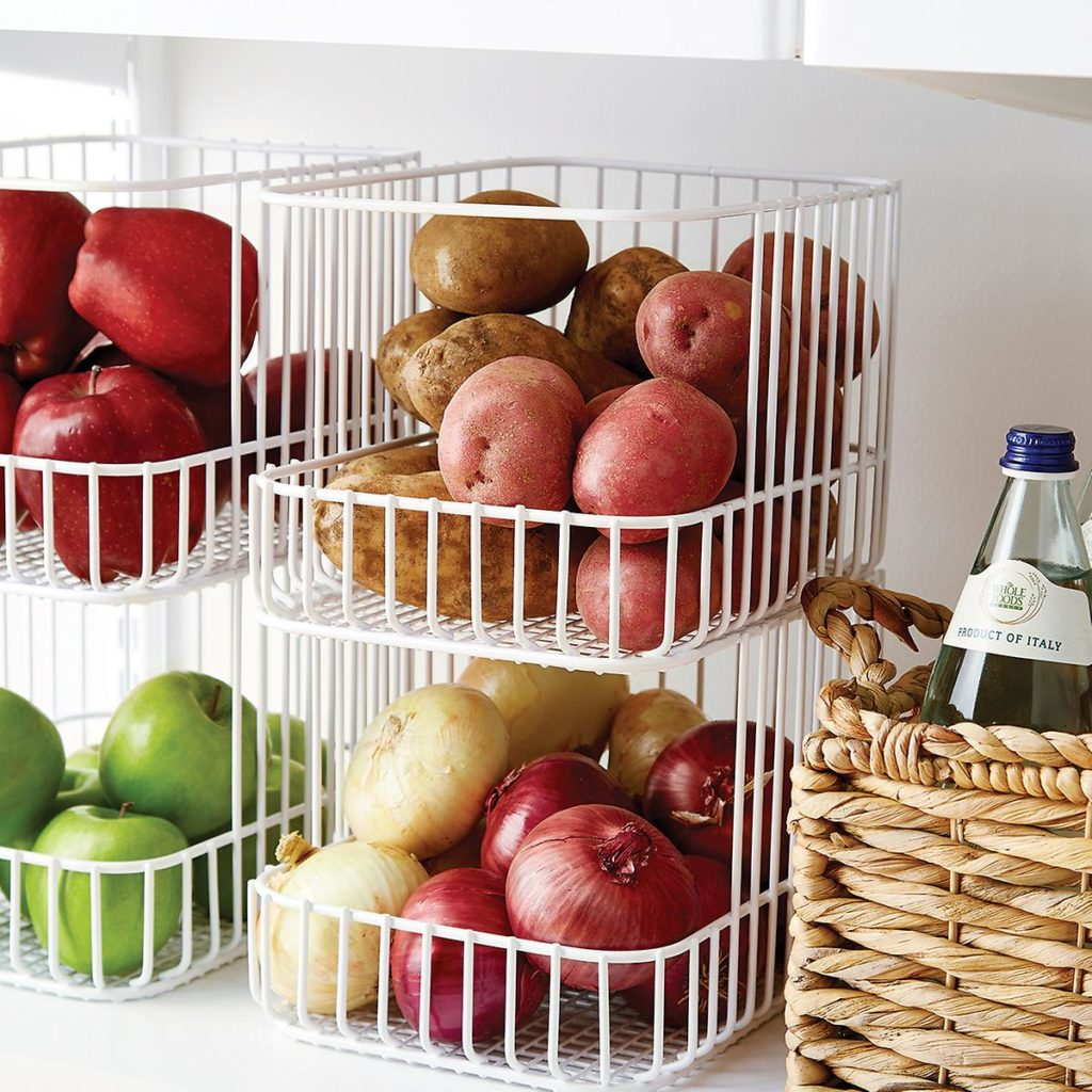 Scala Steel Wire Stackable Basket $19.99