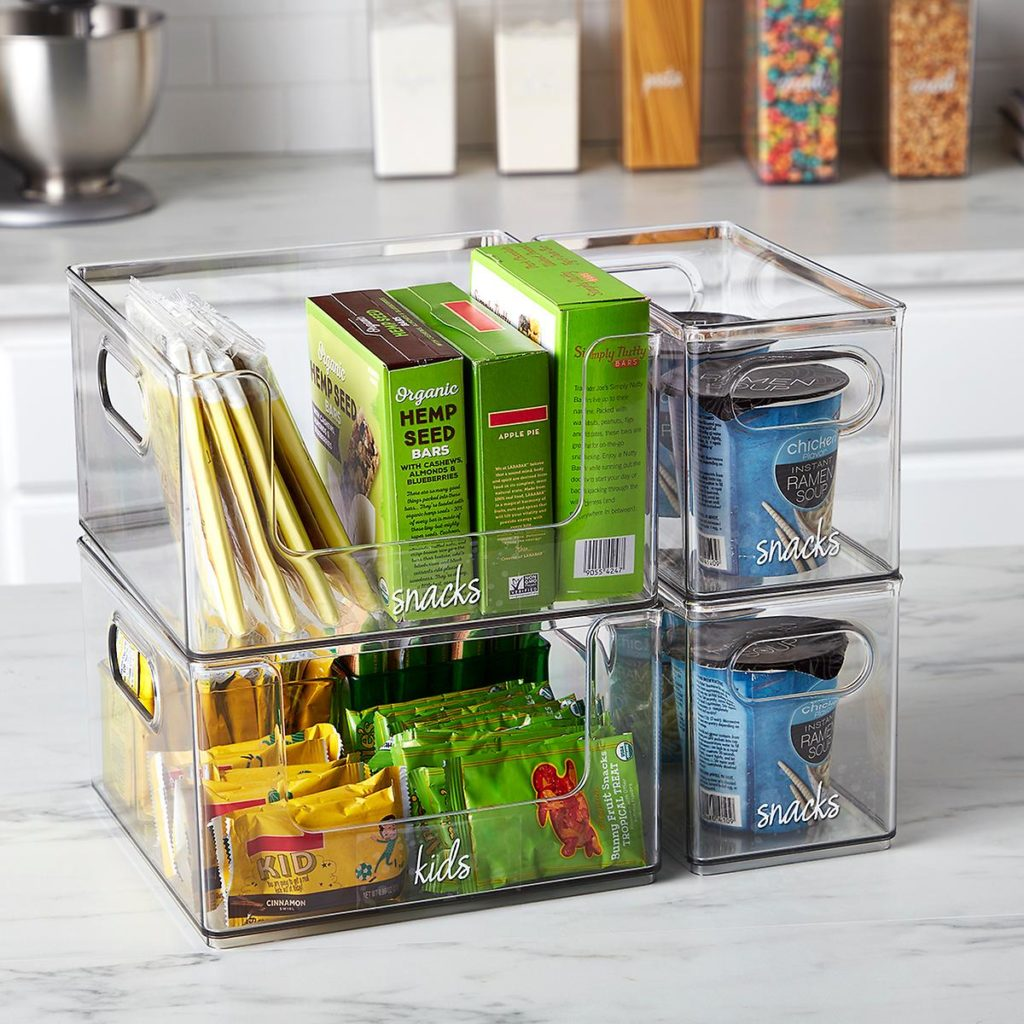 The Home Edit Stacking Pantry Bin $17.99
