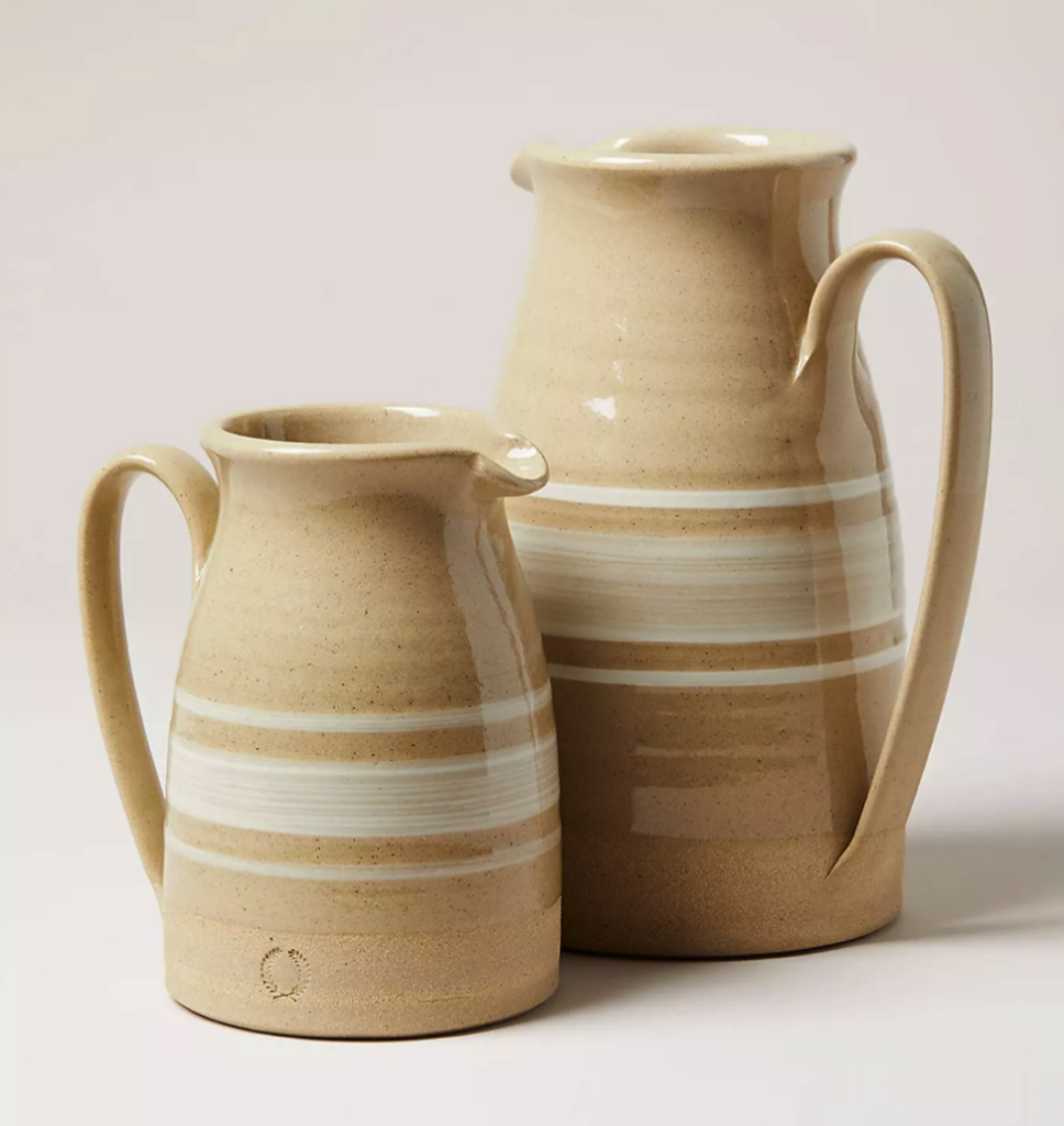 Farmhouse Pottery Yellowware Pitcher$165.00 – $245.00