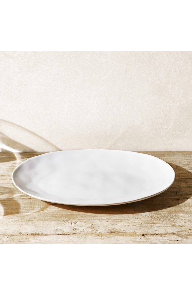 Portobello Large Serving Platter THE WHITE COMPANY $79.00