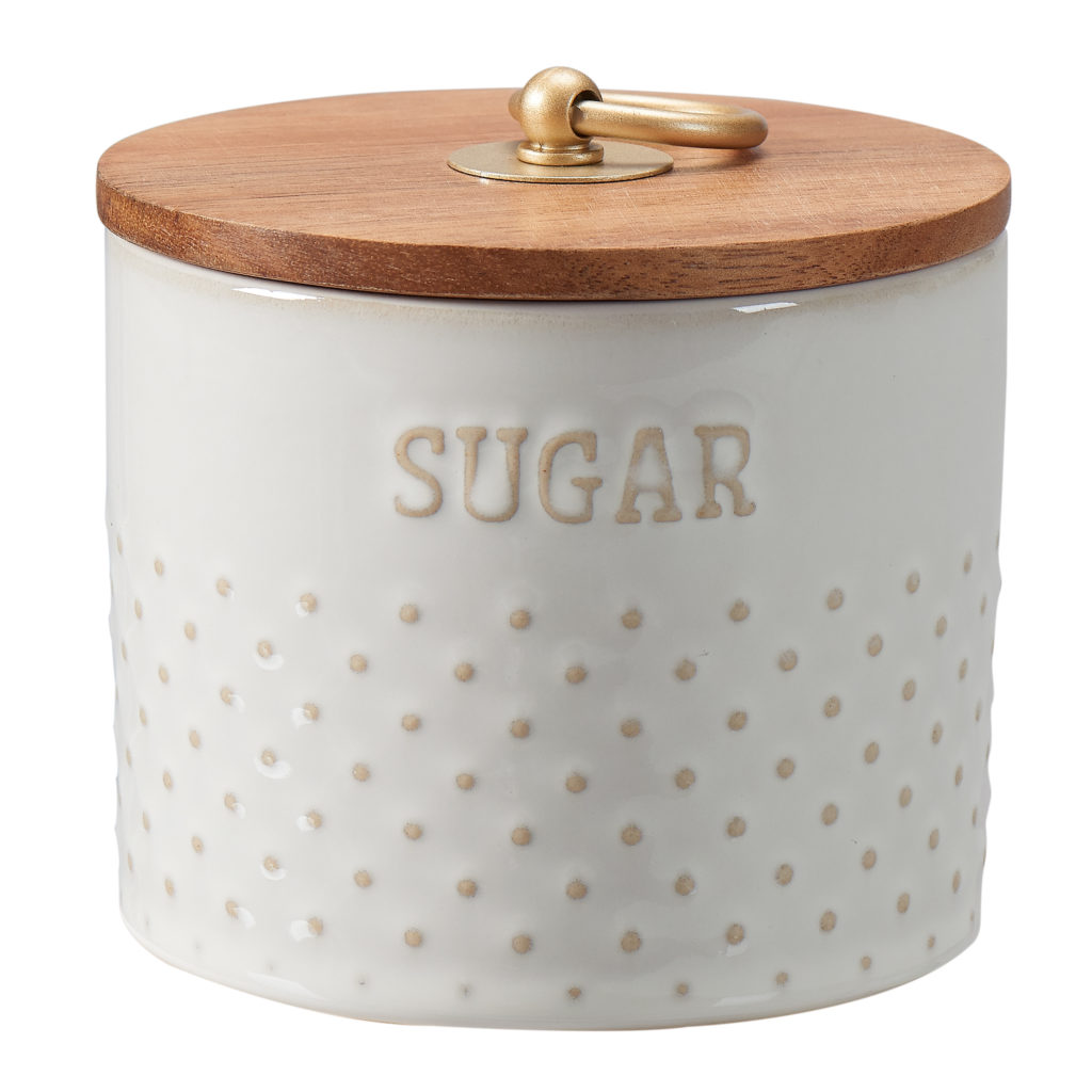 Modern Farmhouse 11 Oz. Mix & Match Dotted Sugar Canister $5.97