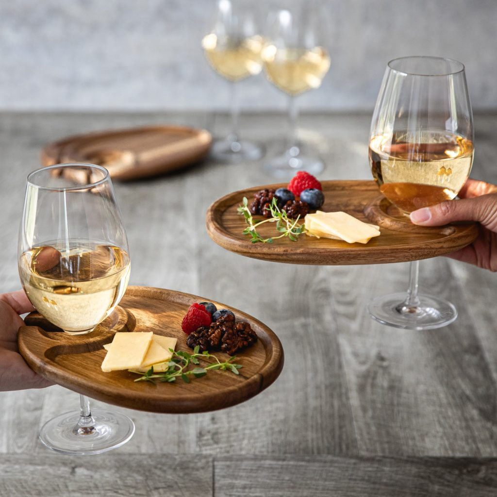 TOSCANA Wine Appetizer Plates, Set Of 4 $19.99