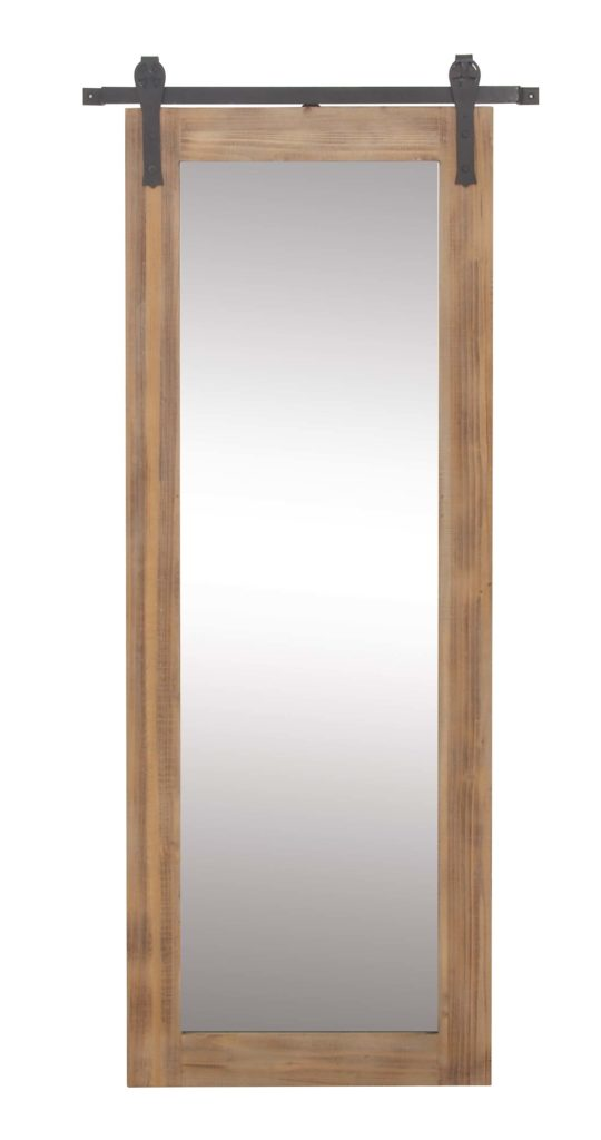 Decmode Farmhouse 70 X 32 Inch Rectangular Wooden Framed Wall Mirror $229.99