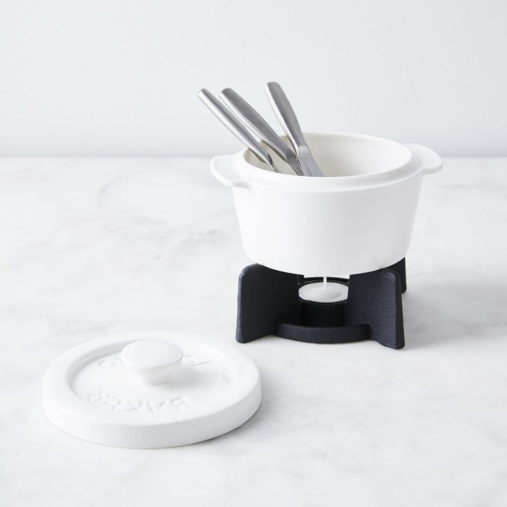 Cheese Baker and Serving Knife Set A $40
