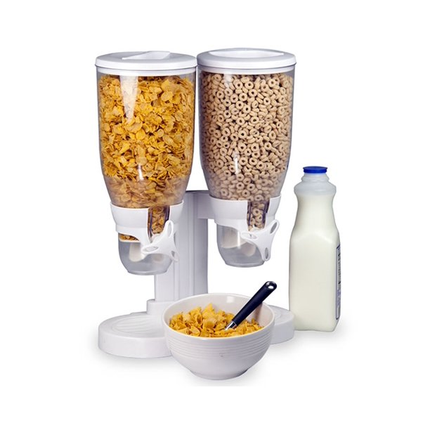 Home Basics Dual Cereal Storage & Dispenser $79.95
