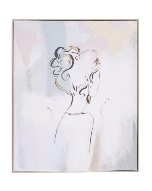 COLLEEN KARIS DESIGNS 20x24 Portrait Abstract Wall Art $29.99