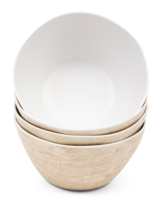 REAL SIMPLE Set Of 4 Outdoor Bowls $12.99