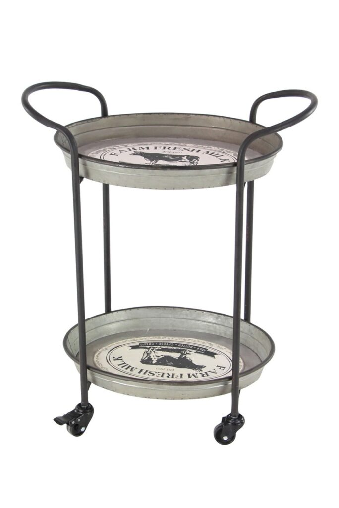 Metal Tray Cart $99.97 https://fave.co/2FKy0yV