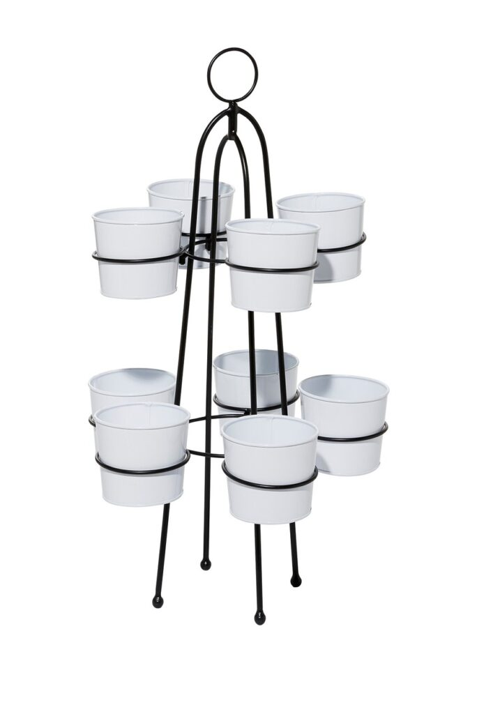 9-In-1 Metal Enamel Planter Stand $61.97