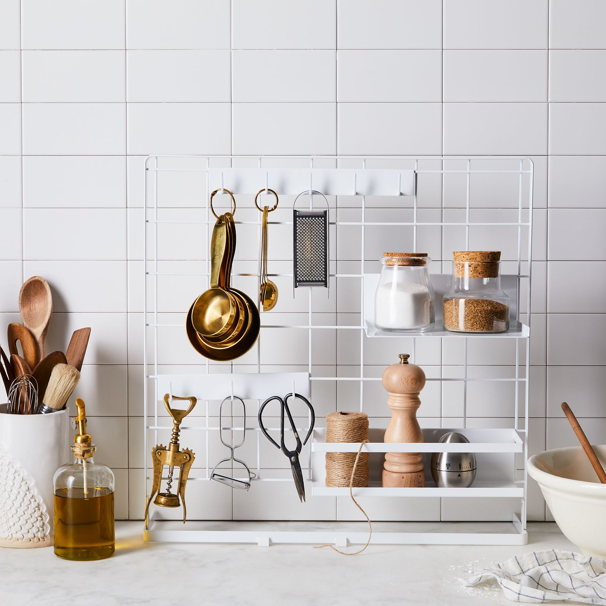 Stovetop Grid Organizer Panel & Storage Accessories$64–$92