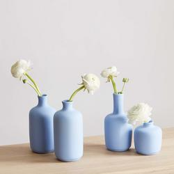 Lacie 4-Piece Pastel Ceramic Vase Set $44.99