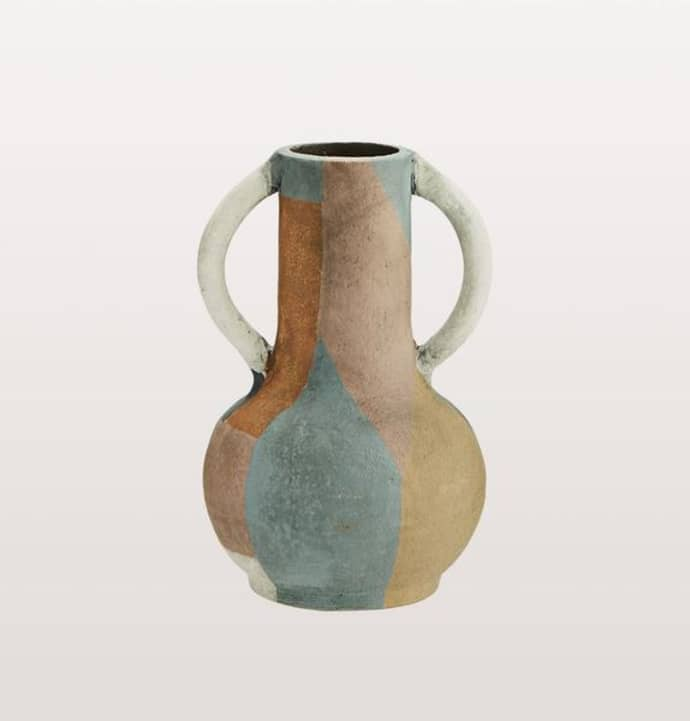 Small Multi Coloured Terracotta Vase $32.49