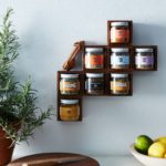 Modular Magnetic Walnut Spice Rack $42–$58- [ ]