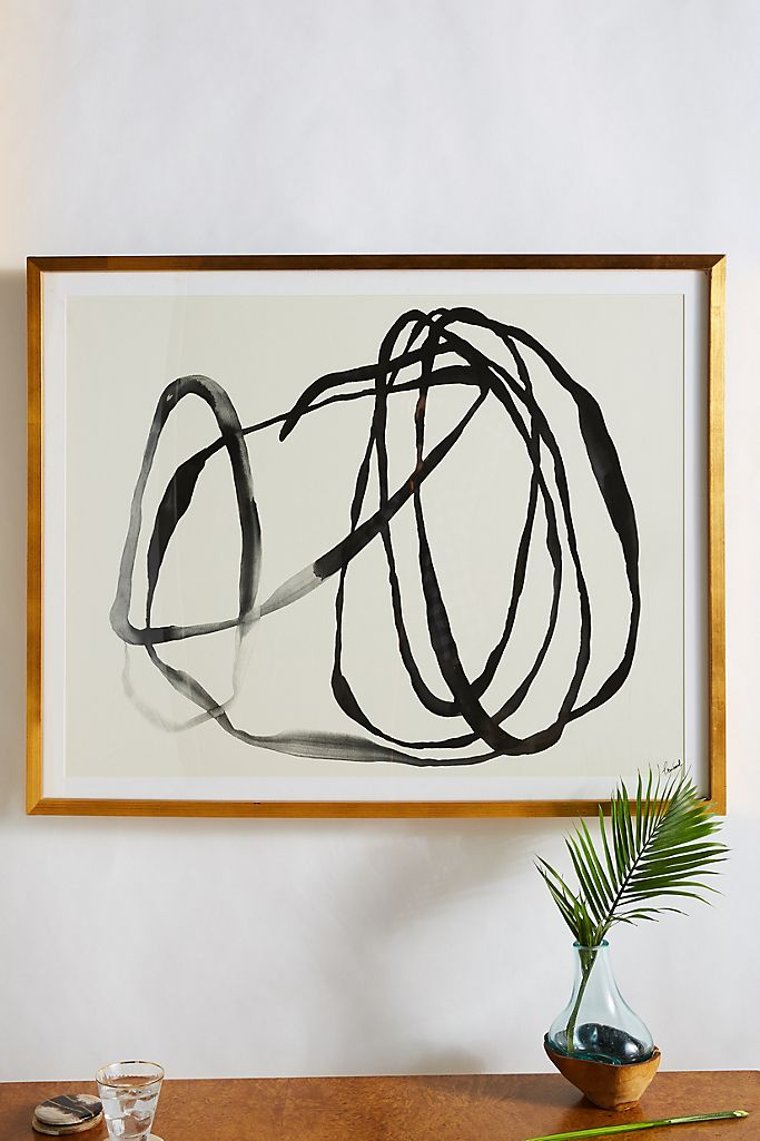 Motion Lines 3 Wall Art $598.00