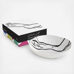 Cocktails On The Roof Body Art Plate, Set of 4 $73.99
