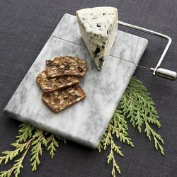 French Kitchen Marble Cheese Board with Slicer $19.95
