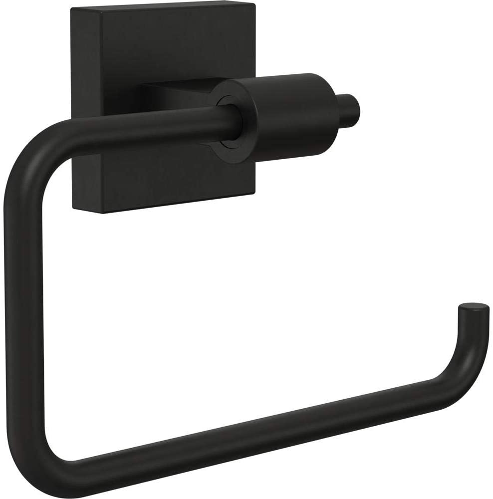Franklin Brass MAX50-FB Maxted Toilet Paper Holder, Matte Black $14.34