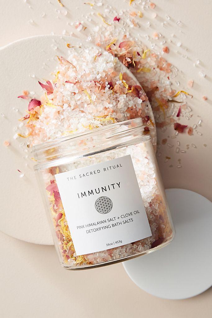 The Sacred Ritual Immunity Bath Salts $26.00