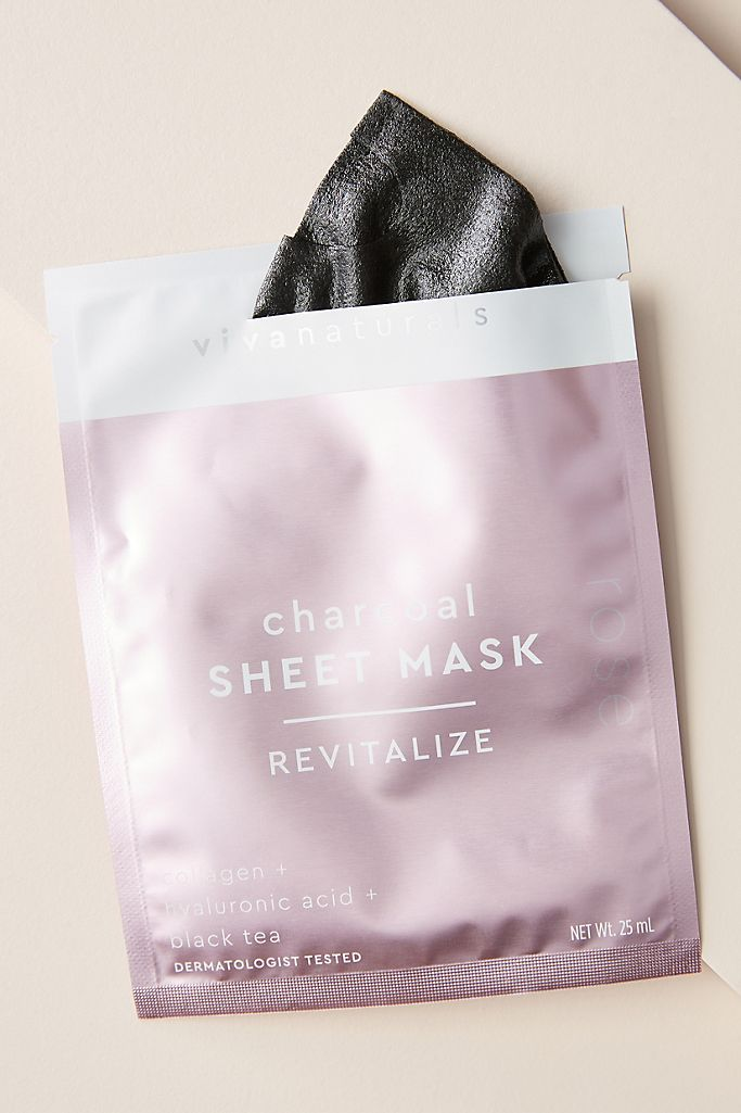 Viva Naturals Charcoal Sheet Mask $5.00